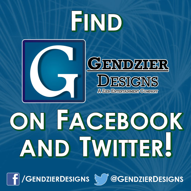 Gendzier Designs on Social Media!