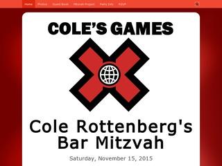 Bar Mitzvah Event Website